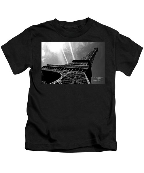 Eiffel Tower Kids T-Shirt