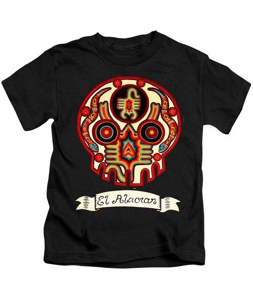 El Alacran - The Scorpion Kids T-Shirt by Mix Luera
