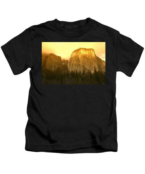 El Capitan Yosemite Valley Kids T-Shirt