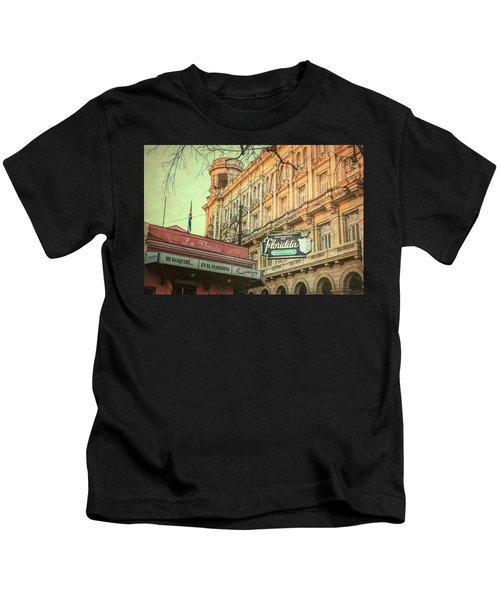 El Floridita Havana Cuba Kids T-Shirt