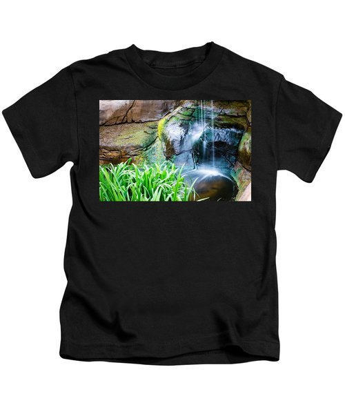 El Paso Zoo Waterfall Long Exposure Kids T-Shirt
