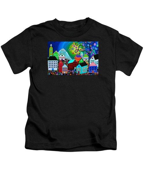 Mi Pueblo Divino Kids T-Shirt