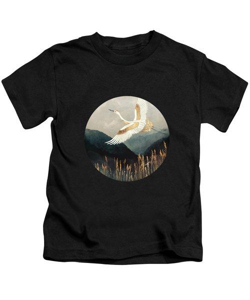 Elegant Flight Kids T-Shirt