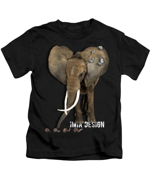 Elephant No 04 Kids T-Shirt