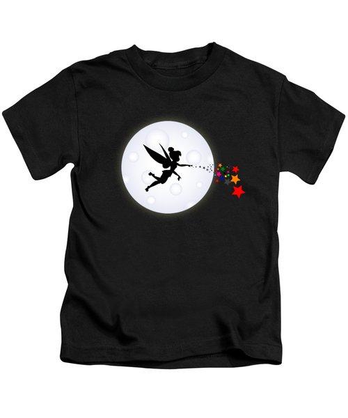 Elf Starry Night Kids T-Shirt