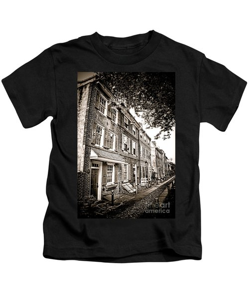 Elfreth Alley  Kids T-Shirt