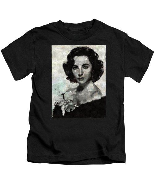 Elizabeth Taylor Kids T-Shirt