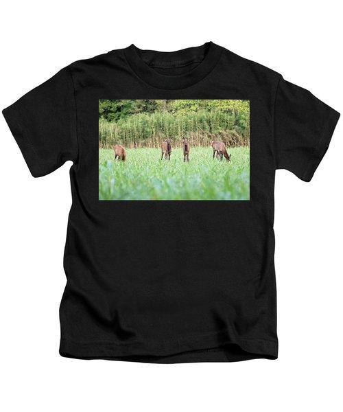 Elk Calves Kids T-Shirt