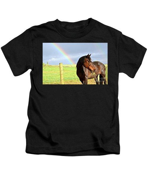 Ella And The Rainbows Kids T-Shirt