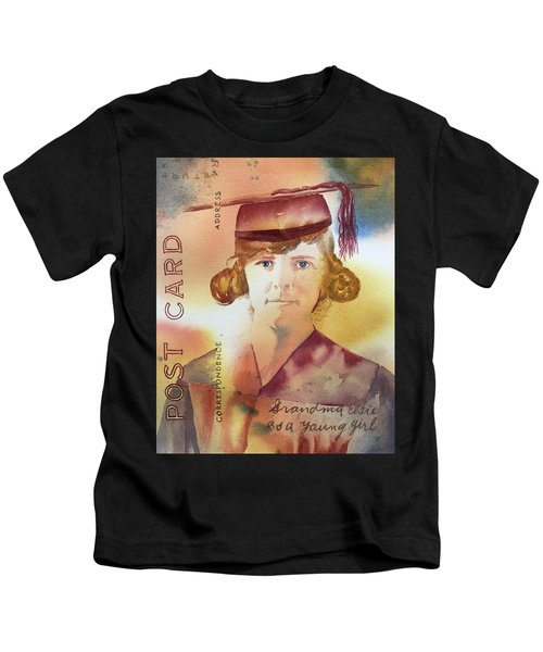 Elsie Circa 1915 Kids T-Shirt