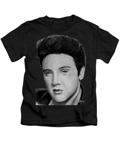 Elvis A Presley Kids T-Shirt