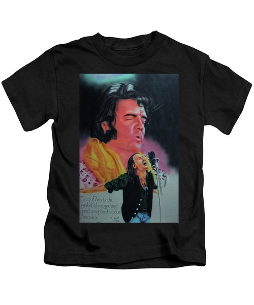 Elvis And Jon Kids T-Shirt