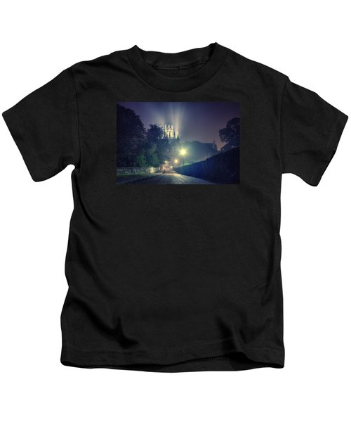 Ely Cathedral - Night Kids T-Shirt