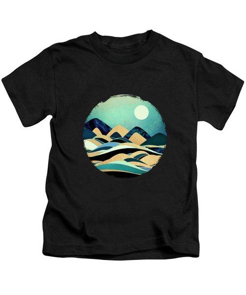Emerald Evening Kids T-Shirt