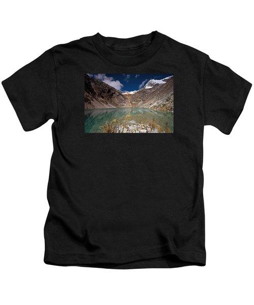 Emerald Mountain Lake Kids T-Shirt