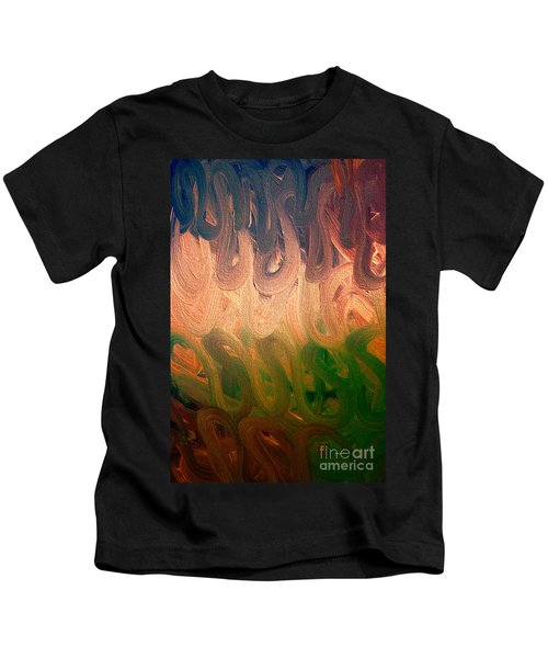 Emotion Acrylic Abstract Kids T-Shirt