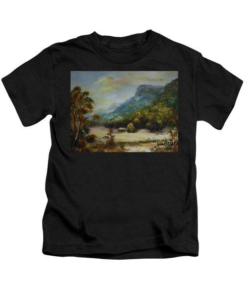 Emu Plains, Grampians Kids T-Shirt