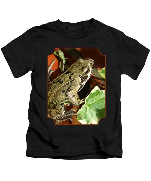 En Route To The Pond Kids T-Shirt