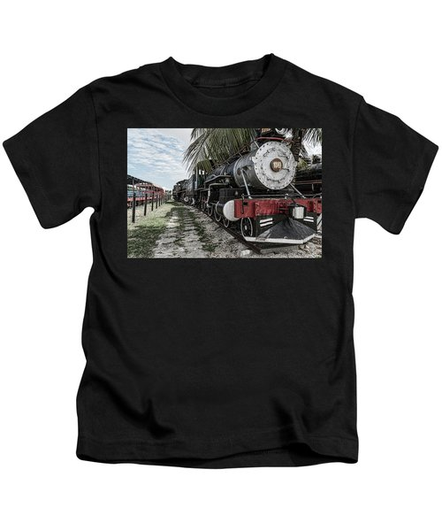 Engine 1342 Parked Kids T-Shirt