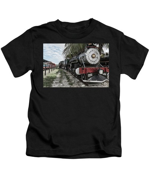 Engine 1342 Parked Kids T-Shirt