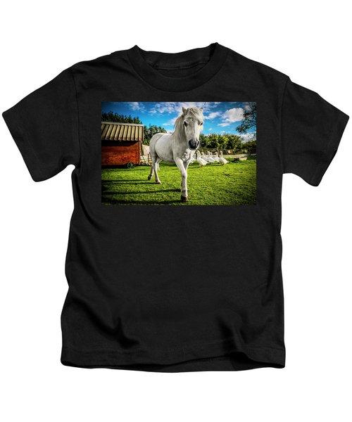 English Gypsy Horse Kids T-Shirt