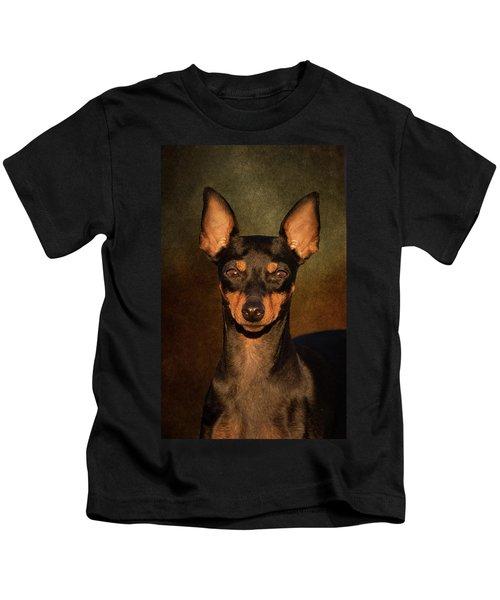 English Toy Terrier Kids T-Shirt