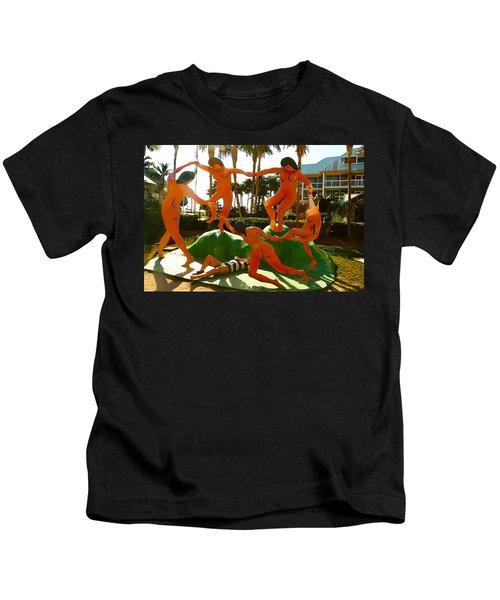 Enjoying  Key West Kids T-Shirt
