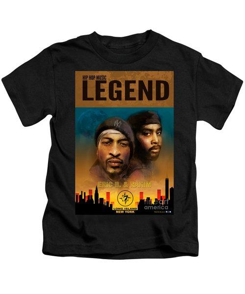 Eric B. And Rakim Kids T-Shirt