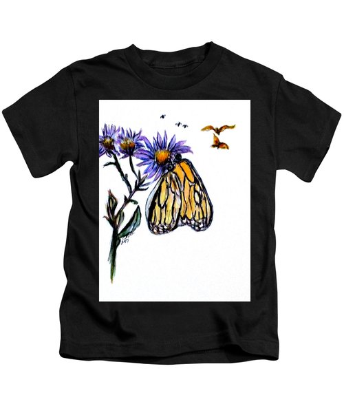 Erika's Butterfly One Kids T-Shirt