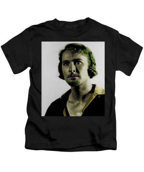 Errol Flynn In Color Kids T-Shirt
