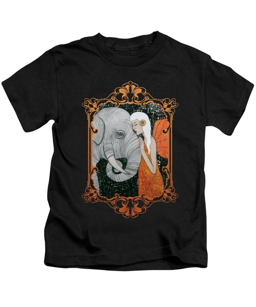 Erynn Rose Kids T-Shirt by Natalie Briney