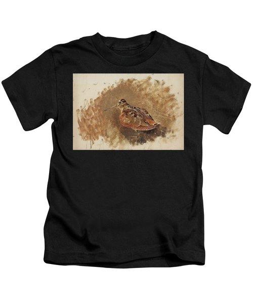 Eurasian Woodcock  Kids T-Shirt
