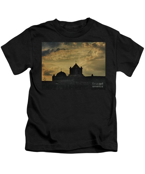 Evening At Goliad Kids T-Shirt