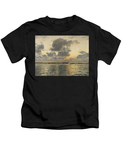 Evening At The Baltic Sea Kids T-Shirt
