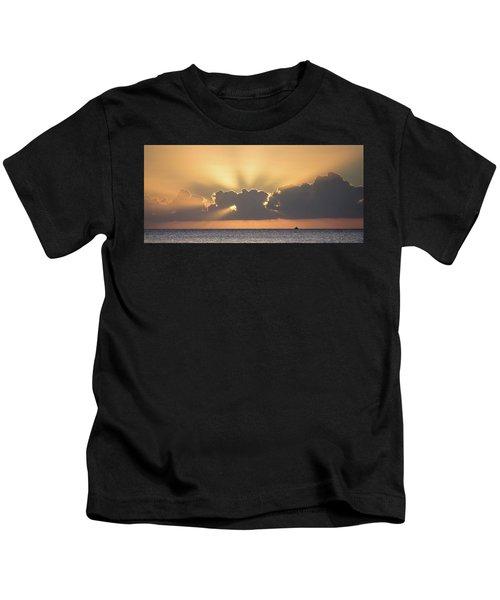 Evening Fishing Kids T-Shirt