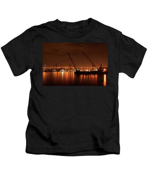 Evening Illumination Kids T-Shirt