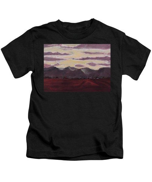 Evening Shadows - Art By Bill Tomsa Kids T-Shirt