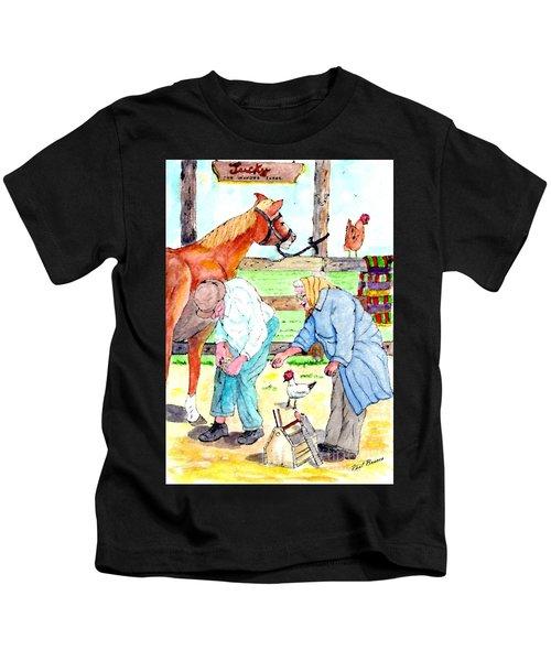 Everyone Works Kids T-Shirt