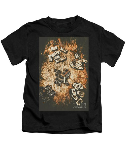 Evolution In Early Gaming Kids T-Shirt