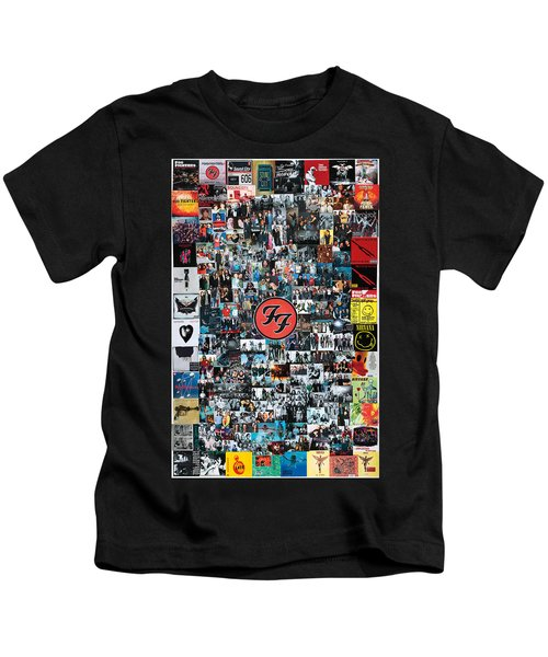 Extraordinary Hero Collage Kids T-Shirt