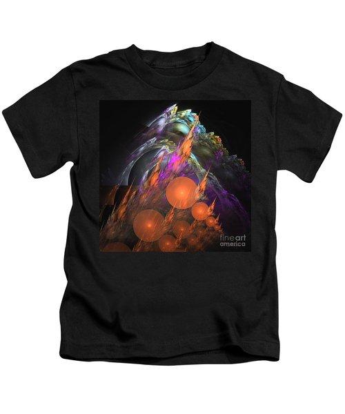 Exuberant - Abstract Art Kids T-Shirt