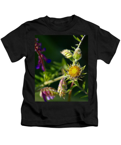 Eye Candy From The Garden Kids T-Shirt