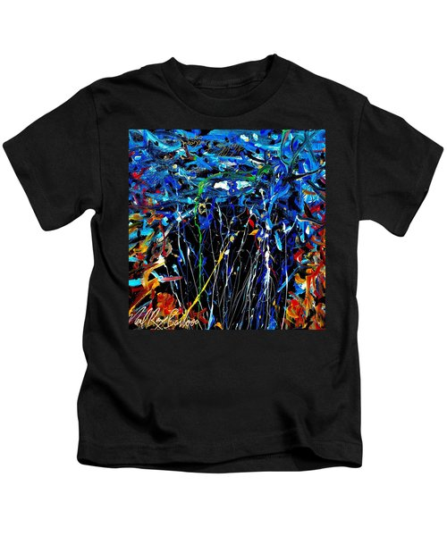 Eye In The Sky And Water Kids T-Shirt