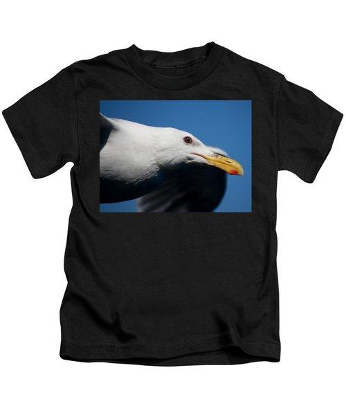 Eye Of A Seagull Kids T-Shirt