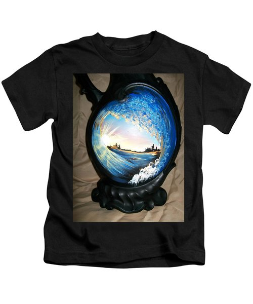 Eye Of The Wave 1 Kids T-Shirt