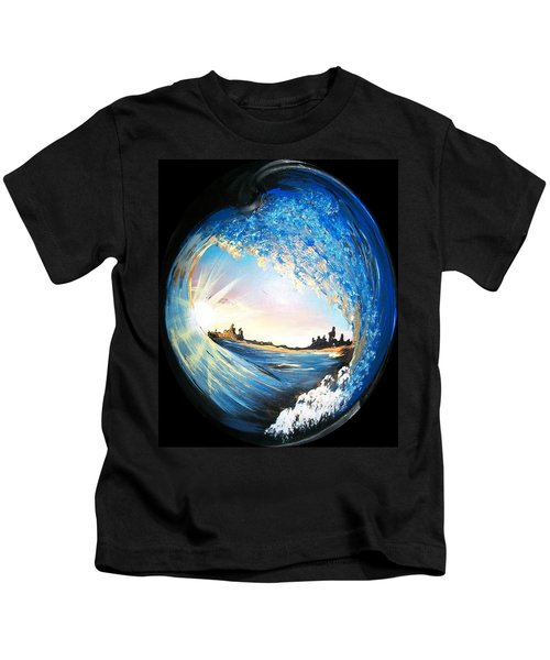 Eye Of The Wave Kids T-Shirt
