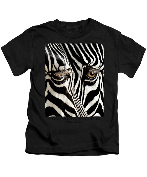 Eyes And Stripes Forever Kids T-Shirt