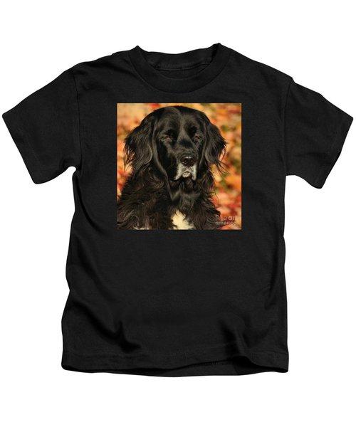 Eyes Of Autumn Kids T-Shirt