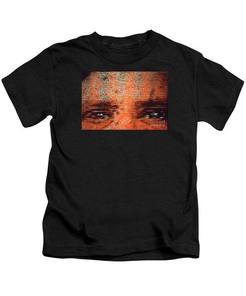 Eyes Tell All Kids T-Shirt