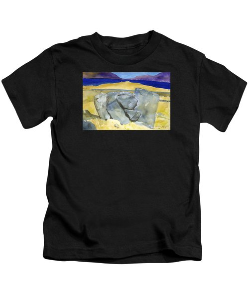 Faces Of The Rocks Kids T-Shirt